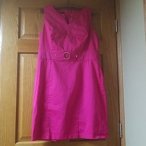 Size 16 Hot Pink Dress AGB